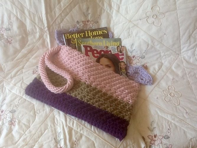 Makerist - Paris Gigi Tote Bag - Crochet Showcase - 2