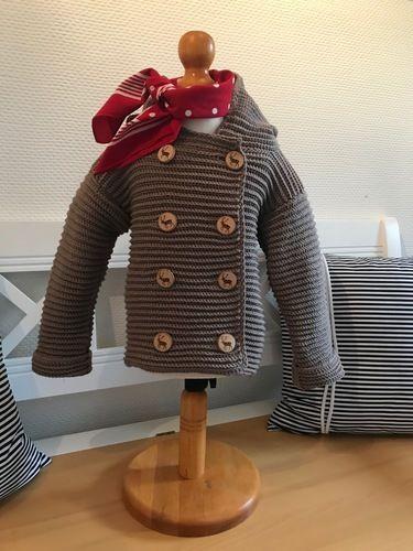 Makerist - Bärenjacke Jungen 2-3 Jahre - Häkelprojekte - 1