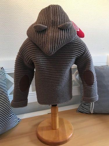 Makerist - Bärenjacke Jungen 2-3 Jahre - Häkelprojekte - 2