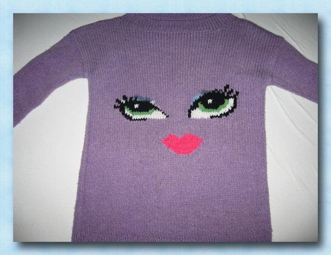 Makerist - Mädchenpullover  - Strickprojekte - 1