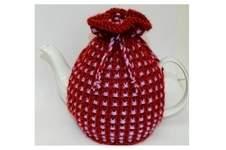 Makerist - Basket Ribbed Tea Cozy Knitting Pattern - DK Wool - 1