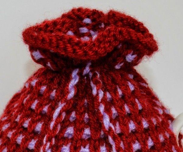 Makerist - Basket Ribbed Tea Cozy Knitting Pattern - DK Wool - Knitting Showcase - 3