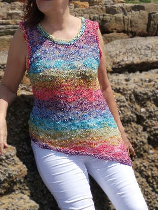 Makerist - Over the Rainbow Top - 1