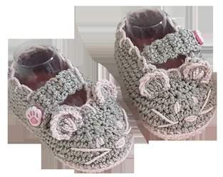 Makerist - Mouse Crochet Baby Booties - 0 - 12 months - 1