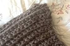 Makerist - Chocolate latte throw - 1