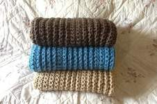 Makerist - Crocheted chunky throw - 1