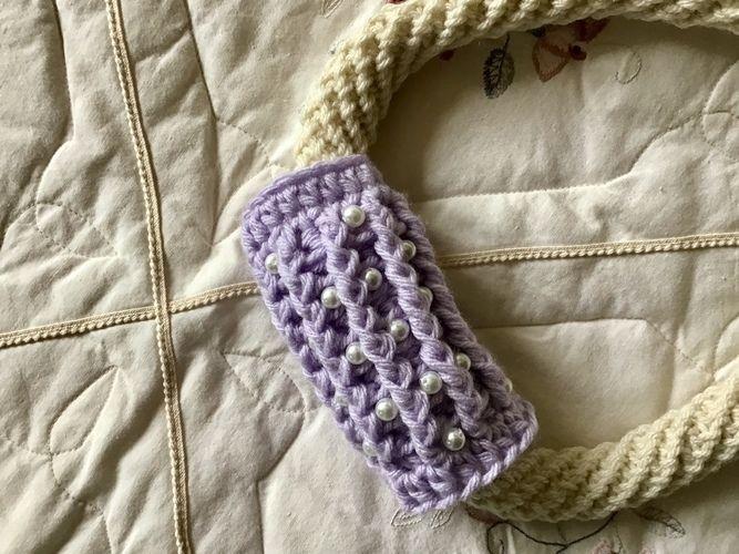 Makerist - Gemini fiber art necklace - Crochet Showcase - 1