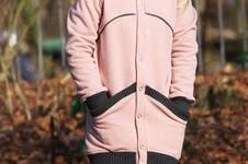 Makerist - Sweatjacke Caro Teen in long - 1