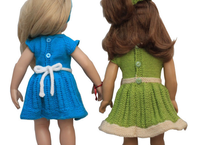 Makerist - Gotz - Fun Dress - Knitting Showcase - 2