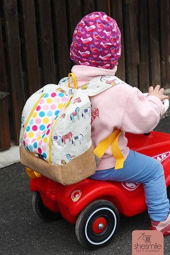 Makerist - rucksack KlapPack for my daughter - Sewing Showcase - 1