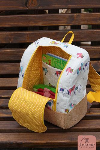Makerist - rucksack KlapPack for my daughter - Sewing Showcase - 2