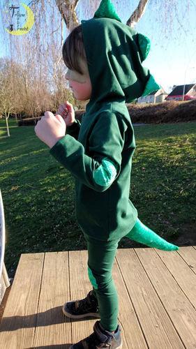 Makerist - Gecko-Kostüm - Nähprojekte - 1