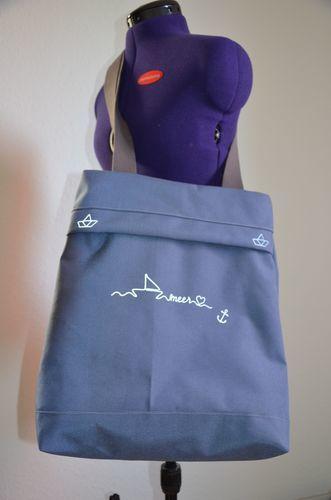 Makerist - Meine maritime Citiebag - Nähprojekte - 1