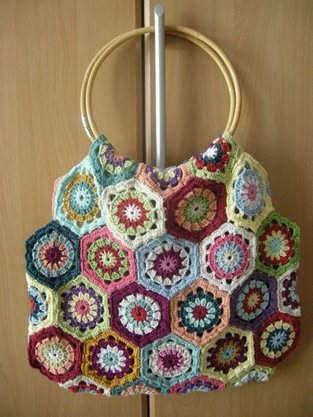 Makerist - Tasche aus Granny-Sechsecken - 1