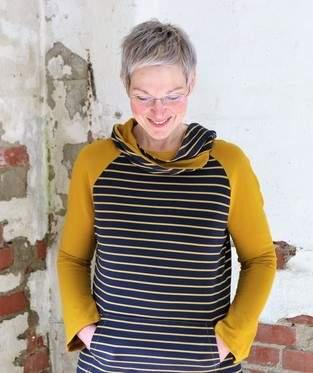 Makerist - Shirt Guste mit Wickelkragen  - 1