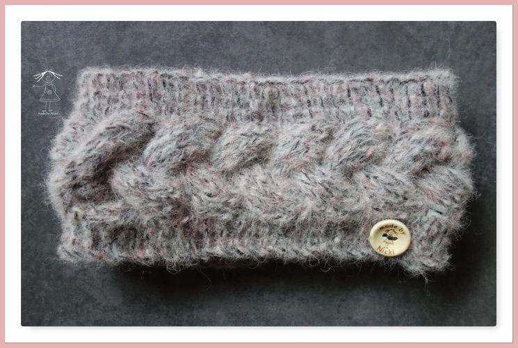 Makerist - Stirnband nach kostenloser Anleitung von namenbaender.de - Strickprojekte - 1