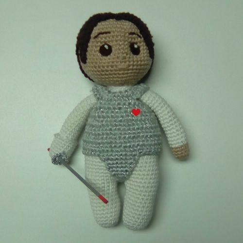 Makerist - Aramis l'escrimeur - Créations de crochet - 1