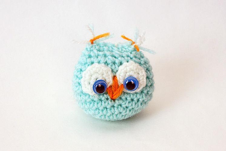 Makerist - Nettes kleines gestricktes Eulenspielzeug für ein Kind - Häkelprojekte - 3