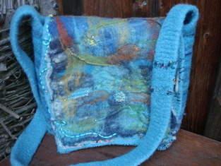 Makerist - Wolle-Filz-Wasserblau - 1