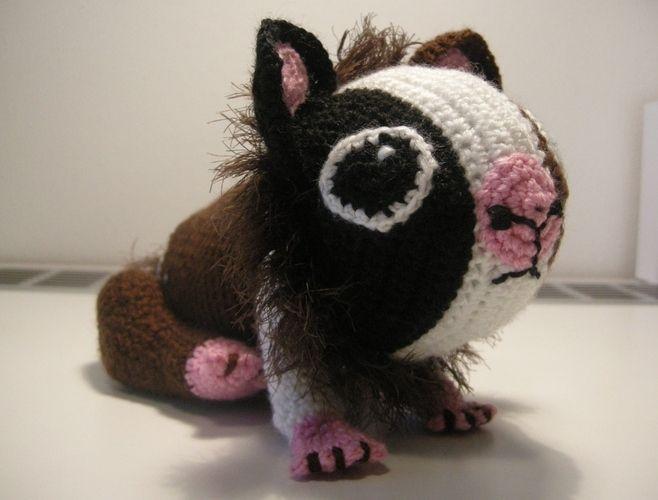 """Makerist - Meerschweinchen """"Pacita"""" - Häkelprojekte - 1"""