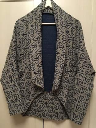 Makerist - Origami-Cardigan - 1