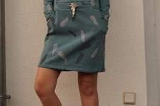 Makerist - Sweatkleid Carli aus dickem warmem Sweatstoff für Frauen - 1