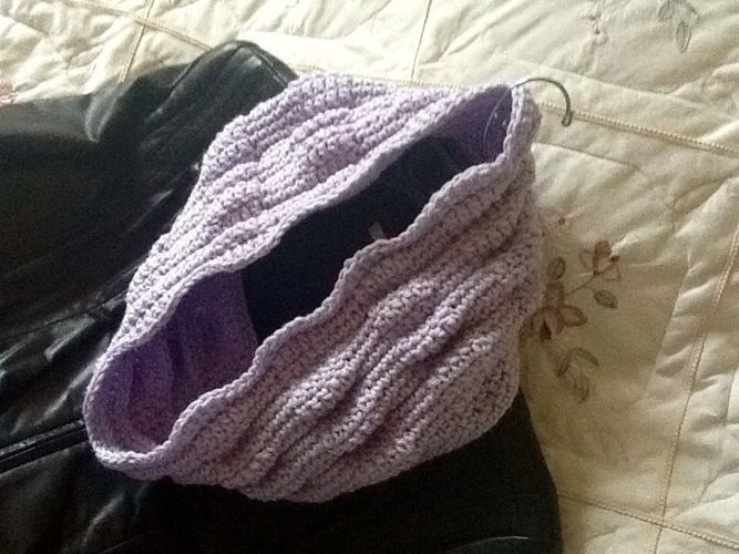 Makerist - Indy crocheted infinity scarf  - Crochet Showcase - 2