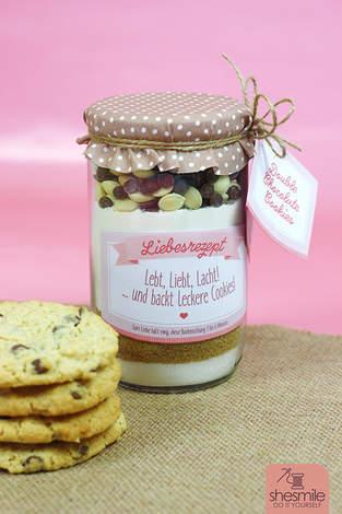 Makerist - Cookies im Glas zur Hochzeit - 1