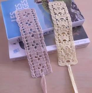 Makerist - Marque pages en dentelle fine au crochet !  - 1