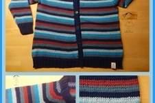 Makerist - Strickjacke nach kostenlosem Strickmuster Nr. 19-4 von Drops Design - 1