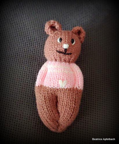 """Makerist - """"Teddy"""" Schmusetierchen für ganz kleine Händchen  - Strickprojekte - 1"""