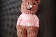 """Makerist - """"Teddy"""" Schmusetierchen für ganz kleine Händchen  - 1"""