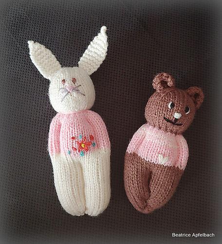 """Makerist - """"Teddy"""" Schmusetierchen für ganz kleine Händchen  - Strickprojekte - 2"""