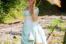 Makerist - 1880er Pistazie - Eiscreme Kleid *Steampunk* - 1