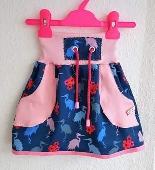 Makerist - Mädchen- Kinderrock Gr. 98-104 - 1