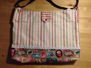 Makerist - Vintage Tasche für liebe Freundinnen  - 1