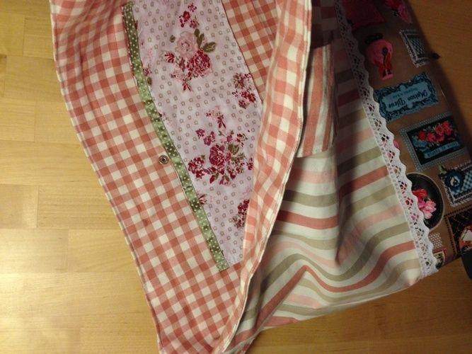 Makerist - Vintage Tasche für liebe Freundinnen  - Nähprojekte - 2
