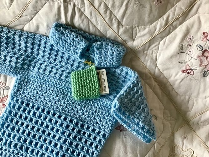 Makerist - Little Boy Girl Blue Sweater - Crochet Showcase - 1