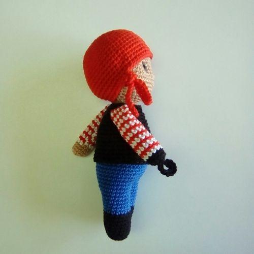 Makerist - Jacques le pirate - Créations de crochet - 2