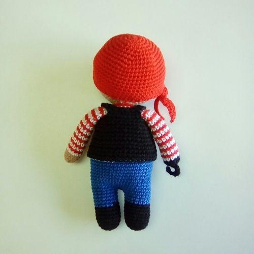 Makerist - Jacques le pirate - Créations de crochet - 3