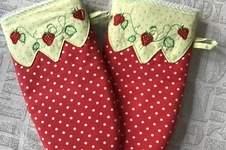 Makerist - Ofenhandschuhe - Geburtstagsgeschenk für eine liebe Freundin mit Küchenfimmel - 1