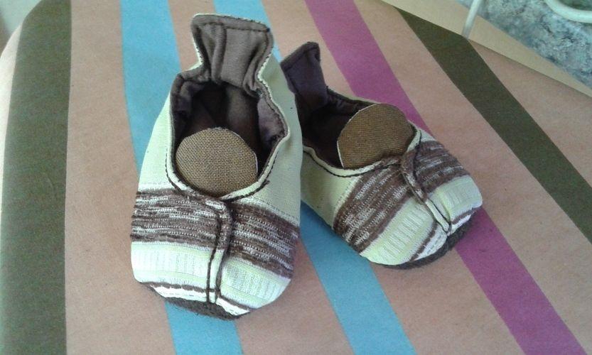 Makerist - Hausschuhe für den Sohn - Nähprojekte - 1