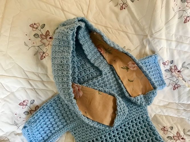 Makerist - Beatrice Bunny Hoodie 🐰  - Crochet Showcase - 1
