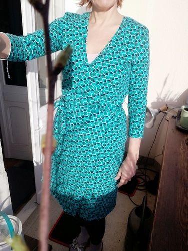 Makerist - Noch ein Wickelkleid bitte Nr.1 - Nähprojekte - 1