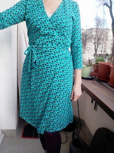 Makerist - Noch ein Wickelkleid bitte Nr.1 - Nähprojekte - 2
