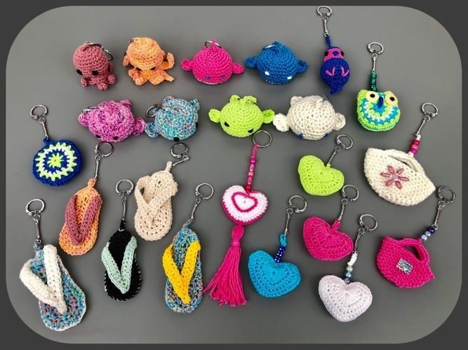 Makerist - Porte clés, attrape rêves, filets à provisions : tutos sur YouTube  - Créations de crochet - 1