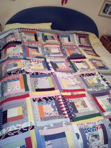 Makerist - Bettdecke Überwurf - Patchwork-Projekte - 1