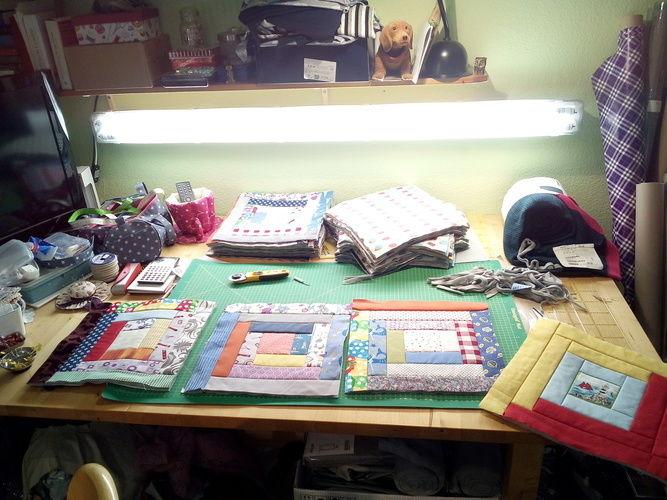 Makerist - Bettdecke Überwurf - Patchwork-Projekte - 2