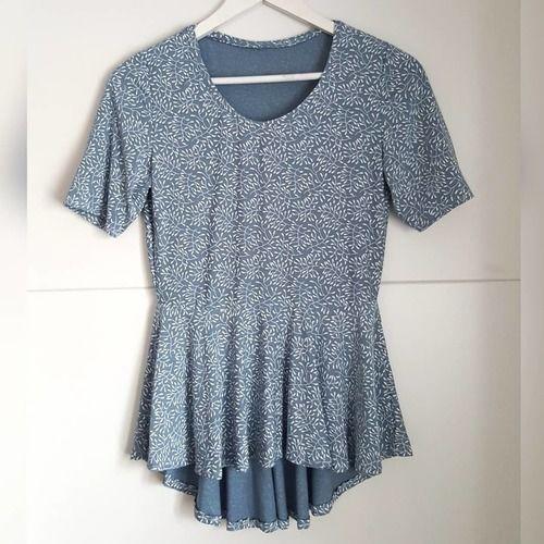 Makerist - Shirt Copenhagen aus Viskose Jersey - Nähprojekte - 1
