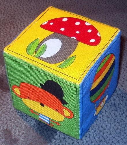 Makerist - farbenfroher Memory-Würfel für Babies - Patchwork-Projekte - 1